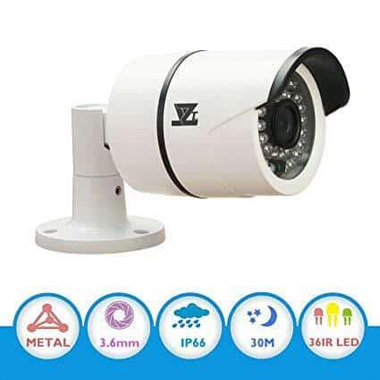 JZTEK CMOS 1000TVL 960H 720P CCTV Home Surveillance