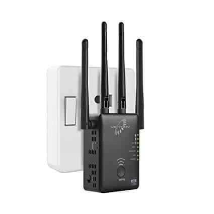 VICTONY 1200Mbps WiFi Range Extender