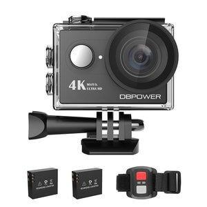 DBPOWER 4K Action Camera WIFI 12MP Waterproof Sport Camera