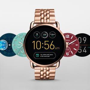 Fossil Q Wander Stainless Steel Touchscreen Smartwatch
