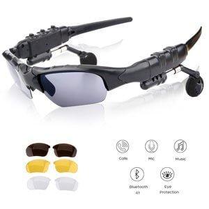 Oldshark Wireless Music Sunglasses with Stereo Handsfree Bluetooth
