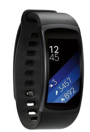 Samsung Gear Fit2 Smartwatch Large Black