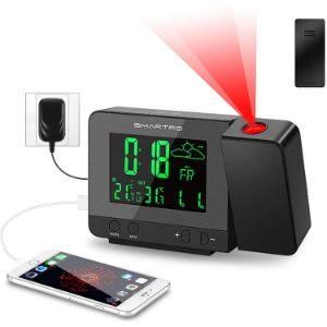 SMARTRO Multifunctional Digital Alarm Clock