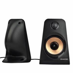 Sanyun SW101 2.0 Multimedia Speakers