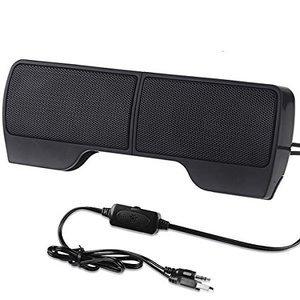 SUPVIN Portable Mini Clip-On USB Powered Stereo
