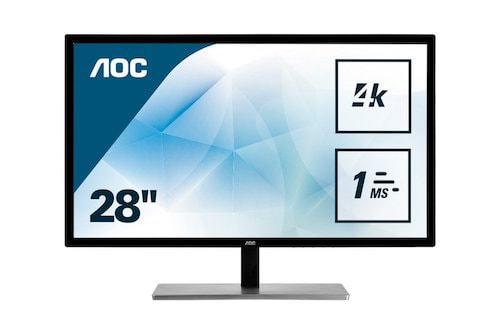"AOC U2879VF 28""Class LED 4K Monitor"