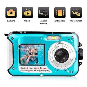 Yindia Underwater Camera
