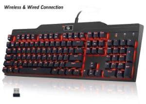 UtechSmart Mercury LED Backlit Keyboard