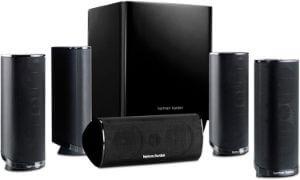 Harman Kardon HKTS 16BQ 5.1 Channel Home Theater Speaker Package