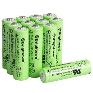 Minetom NiMH Rechargeable AA Batteries