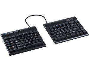 Kinesis Freestyle2 Blue Wireless Ergonomic Keyboard