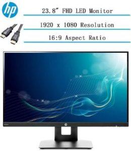 "HP 23.8"" Full HD IPS LED Monitor"
