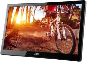 "AOC e1659Fwu 15.6"" Ultra Slim Portable Monitor"
