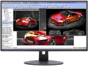 Sceptre E248W Ultra Thin LED Monitor