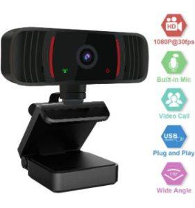 Peteme 1080P HD Webcam