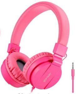 ONTA Foldable Lightweight Kids Headphones