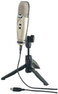 CAD Audio U37 USB Studio Condenser Recording Microphone
